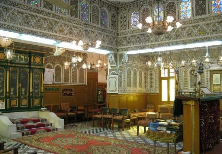 Synagogue in Fez Morocco